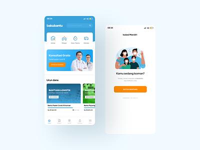 bakubantu apps Covid-19 apps mobile modern professional covid19 design app mobile ui mobile app design mobile app uidesign covid