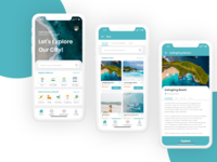 Travel Apps - AdobeXD