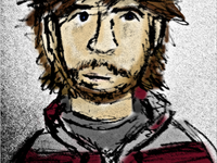 Headshot illustration