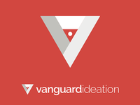vanguard ideation reversed logo