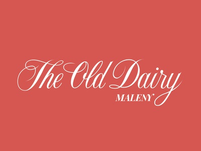 The Old Dairy Maleny Logotype
