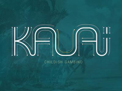 Kauai Hand Lettering hand lettering