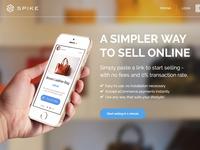 SPIKE marketing site