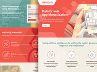 Metaps marketing site