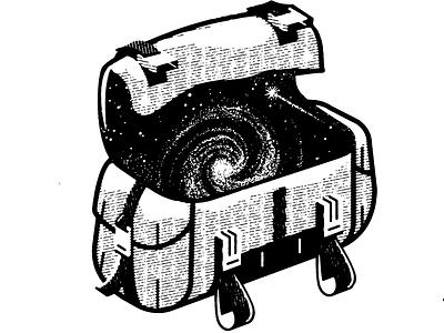 B X B - Stay trippin™ lithography white black branding texture illustration