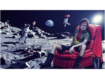 Man on Moon