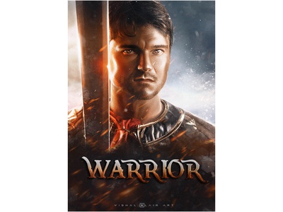 Warrior poster art