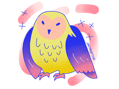 day 2/30 - favorite animal barn owl animal owl 30daydrawingchallenge