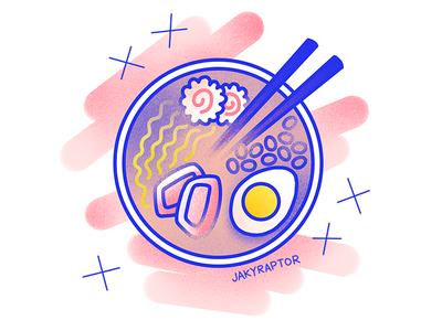 day 3/30 - favorite food noodles ramen food 30daydrawingchallenge