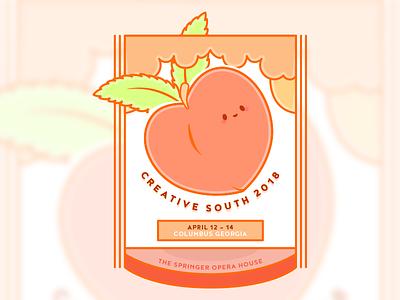 Creative South 2018 hugnecks peach georgia creativesouth
