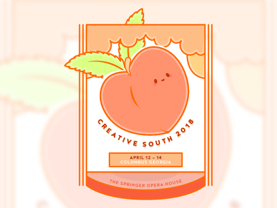Creative South 2018 hugnecks peach georgia creativesouth
