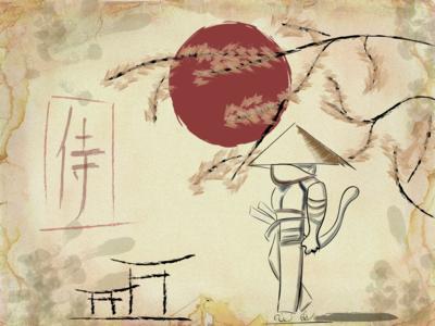 Кото-самурай