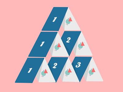 Arithmetic Progression testbook 2d art digitalart product design playingcards cards progression design adobe illustrator minimal india flat illustration character adobe illustrator illustration