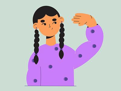 Just minimal vector illustration digitalart drawing vector 2d artist flat flat illustration character adobe design illustrator illustration