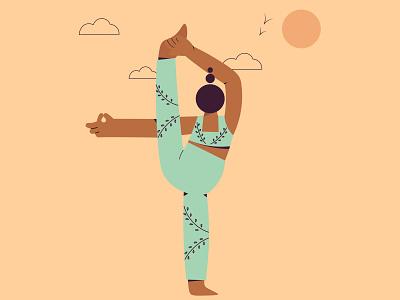 Stretch 2d design character illustrator illustration