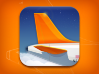 Just Landed App Icon