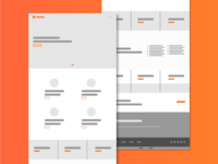 Sculpt Wireframe – Home Template