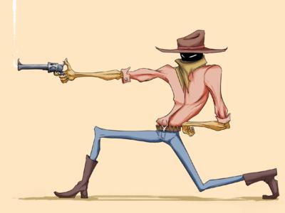 Cowboy character design