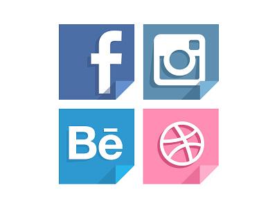 Icons icons flat web