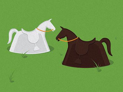 Toy Horses toy horse illustration