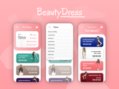 Beauty Design (Search) - Daily Ui 022