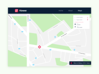 Map - Daily Ui 029