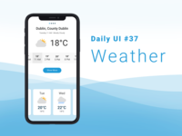 Weather App - Daily Ui 037