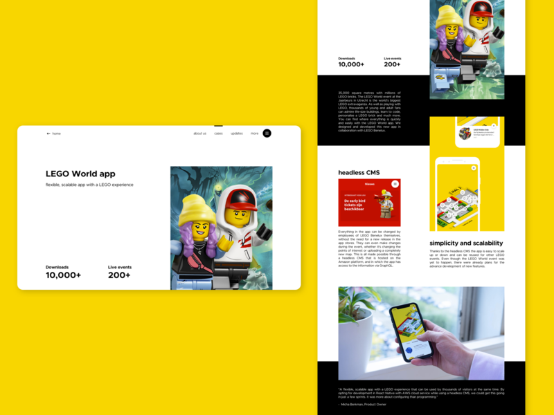 WeAreYou   case study redesign website ui design ui redesign agency casestudy