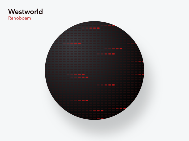 Westworld Rehoboam | Simple UI rehoboam westworld flat simple series ui weeklywarmup