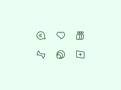 55 :: Icon Set icon set dailyui 055 dailyui ui