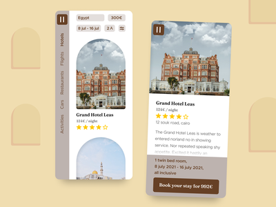 67 :: Hotel Booking home hotel booking dailyui 067 dailyui ui