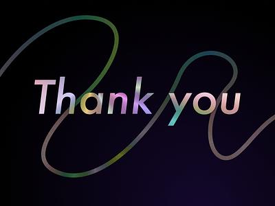 77 :: Thank You dailyui 077 dailyui thank you ui