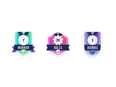 84 :: Badges badge dailyui 084 dailyui ui