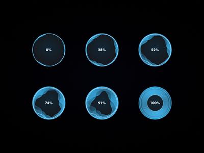 86 :: Progress Bar charging animation charging progressbar dailyui 086 dailyui ui