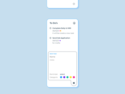 90 :: Create New mobile create new dailyui 090 dailyui ui