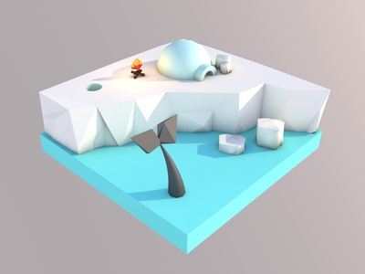 Arctic Lowpoly