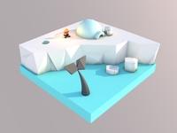 Arctic Lowpoly