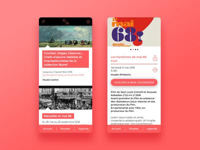Marseille Museum App