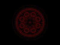 Card Back poster motion graphics motion design occult cards tarot card pattern vector motion star pentagram eye tarot