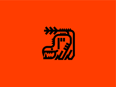 Odogaron - Monster Hunter minimalist videogames gaming character vector monsters iconography simple icon creature monster hunter monster