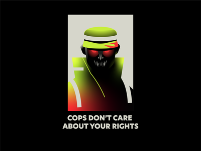 Human Rights - Colombia help latin america gradient human rights green pig social reform police human vector illustration protest poster rights acab cops colombia