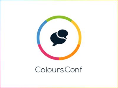 ColoursConf logotype design web seo marketing dev front-end ux event conference logo identity brand