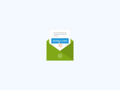 Confirmation E-mail cursor confirm letter mail button cta envelope cepa marian mark icon illustration