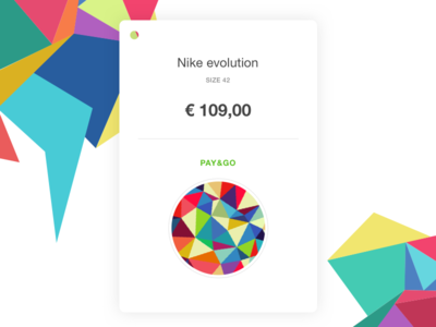 Pay&Go Price Tag future buy customer shop retail sales design code app mobile tag price