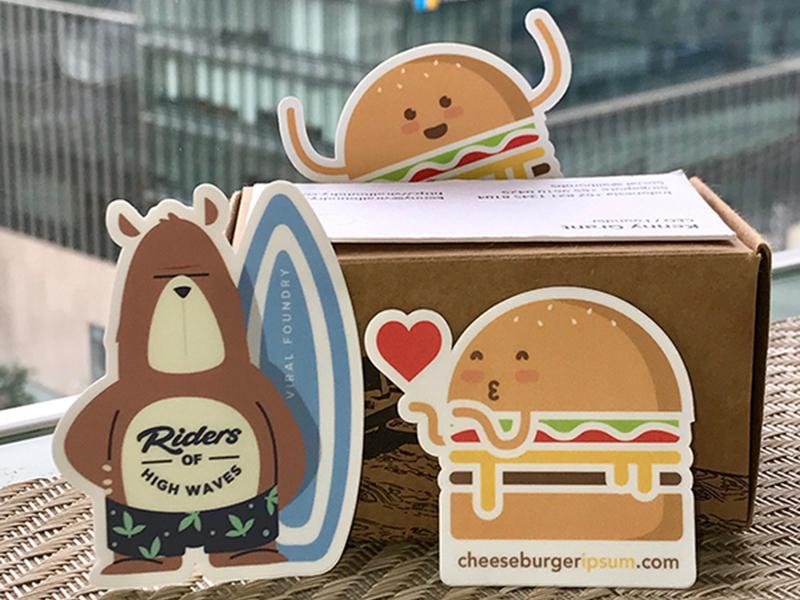 Free Sticker Giveaway – 5 Rad Stickers