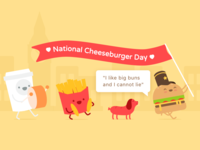The Best Day Of The Year, National Cheeseburger Day