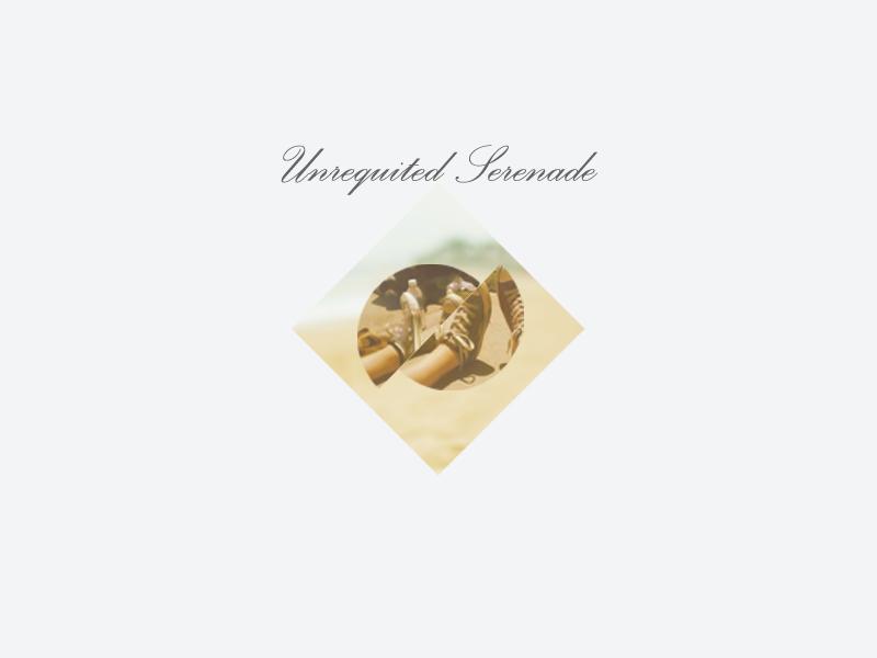 Unrequited Serenade cover album