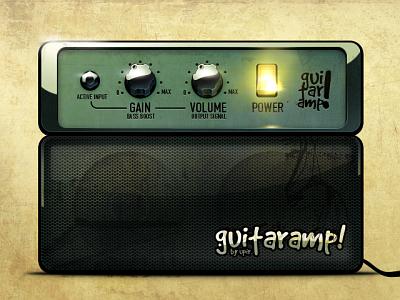 [2008] Guitar Combo psd freebie photoshop bass switch green combo guitar