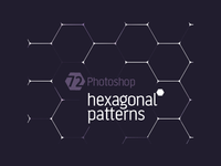 [2008] Free Photoshop Hexagonal Patterns