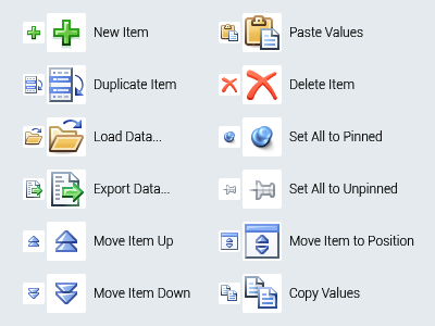 [2015] MS Office-like Icons 32x32 16x16 3d xp blue perfect pixel icon icons office microsoft